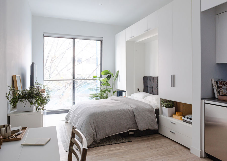 Room rented through portable subsidy